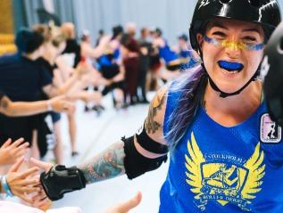 So happy, my roller derby photos atKulturhuset